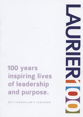 Wilfrid Laurier University fall convocation invitation, 2011