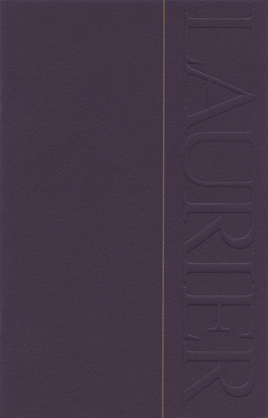 Wilfrid Laurier University spring convocation invitation, 2004