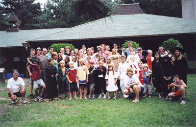 Group of people at Camp Lutherlyn