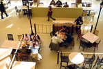 Students in Dining Hall, Wilfrid Laurier University
