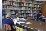 Students in Wilfrid Laurier University Library