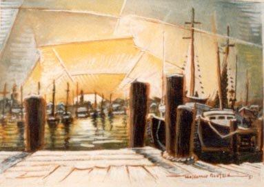 Sunrise in Port
