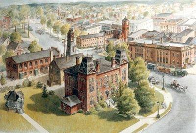 Waterloo Town Hall, Circa 1935