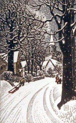 Gunnery Hill In Snow