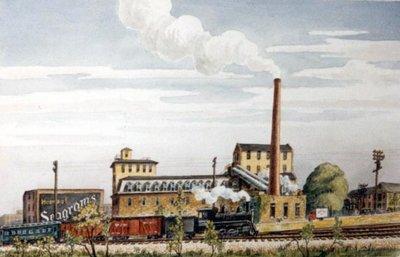 Seagram's Brewery, Circa 1935