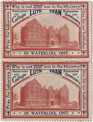 Mail seals, Evangelical Lutheran Seminary of Canada