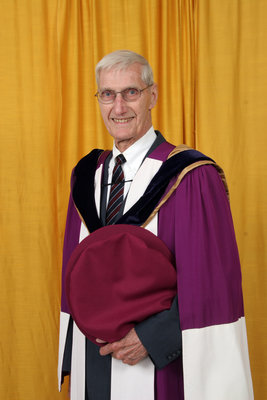 Don Morgenson, honorary degree recipient, Wilfrid Laurier University spring convocation, 2006