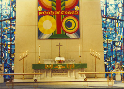 Altar, St. Peter's Lutheran Church, Kitchener, Ontario