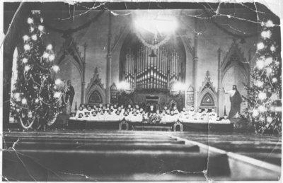 Choir, St. Peter's Lutheran Church, Kitchener, Ontario
