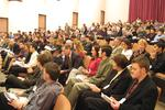 Audience at the School of Business and Economics annual award ceremony, 2002