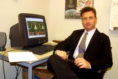 Giuseppe (Joe) Campolieti in office, 2003