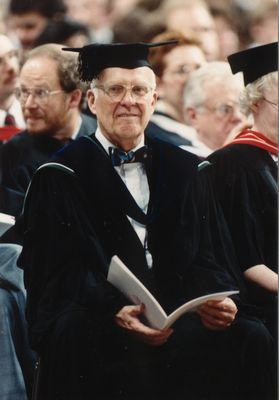 Max Stewart at convocation