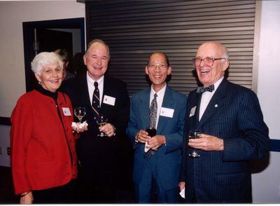 Elaine Haney, Reg Haney, John Lit and Max Stewart