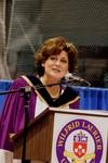 Lisa Laflamme at fall convocation, 2006
