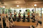 Students using ellipticals at Athletic Complex, 2006