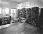 Library in Willison Hall, Waterloo College