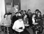 Waterloo College students in a classroom