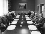 Joint Board Committee meeting of Waterloo College and the Associate Faculties, February 22, 1957