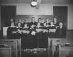 Waterloo College Chapel Choir, 1953-54