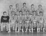 Waterloo College men's basketball team, 1955-56