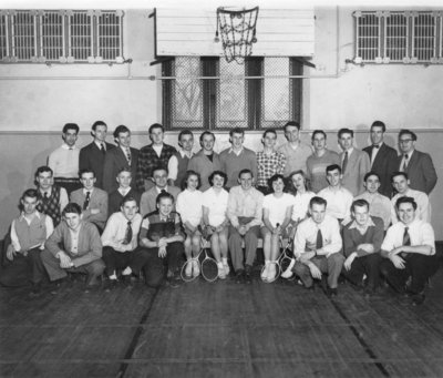 Waterloo College Badminton Club, 1950-51