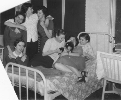 Female Waterloo College students