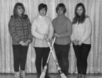 Waterloo Lutheran University women's varsity curling team, 1968-69