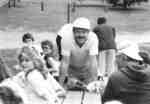 Gary Jeffries at WLUSA picnic, 1985