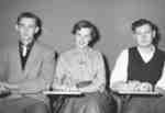 Athletic Awards recipients, 1954-55