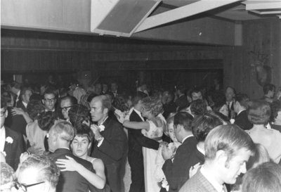 Waterloo Lutheran University convocation banquet, 1969