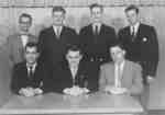 Waterloo College junior class, 1954-55