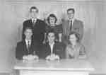 Waterloo College Sophomore class executive, 1954-55