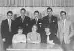 Waterloo College freshman class executive, 1954-55