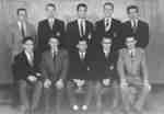 Waterloo College Keystone advertising staff, 1954-55