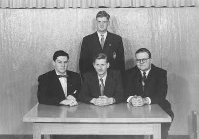 Waterloo College Handbook and Directory Committee, 1954-55