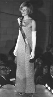 Miss Canadian University Queen Pageant 1968 contestant