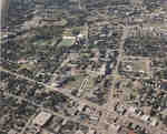 Aerial view of Wilfrid Laurier University, 1994