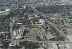 Aerial view of Wilfrid Laurier University, 1995