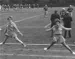 Waterloo Lutheran University football game, 1968