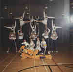 Wilfrid Laurier University cheerleaders