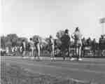 Waterloo Lutheran University cheerleaders, 1967