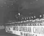 United Lutheran Church in America rally held at the Kitchener Auditorium, Oct. 10, 1954