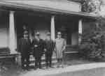 William Lyon Mackenzie King visiting his birthplace