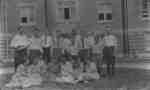 Summer School indoor baseball teams, 1920