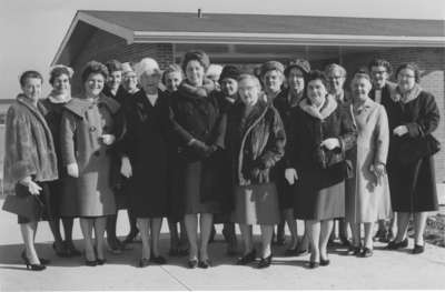 Women's Auxiliary of Waterloo Lutheran University meeting, 1963