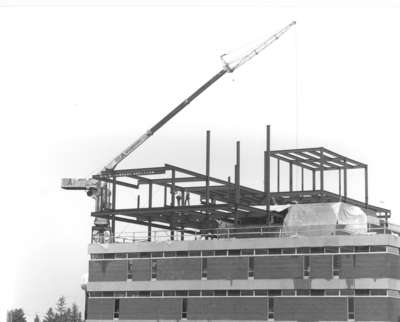 Wilfrid Laurier University Library, Phase 3 construction