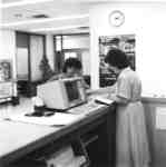 Wilfrid Laurier University Library staff member