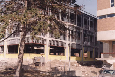 Construction of The Schlegel Centre, Wilfrid Laurier University