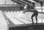 Ian Smith on pool deck