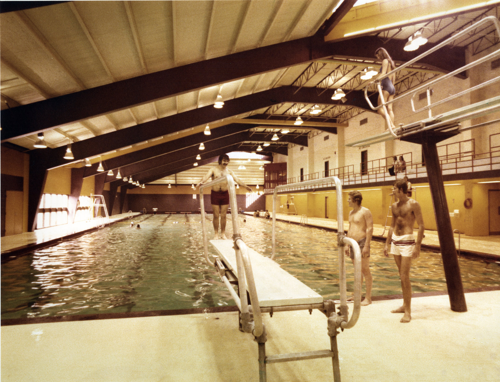 Athletic Complex Swimming Pool Wilfrid Laurier University Laurier Library Images